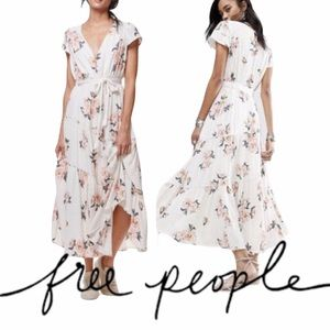 Free People Floral All I Got Printed Maxi Dress 4